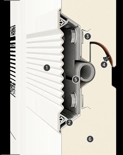 Przekrój panelu Innovo