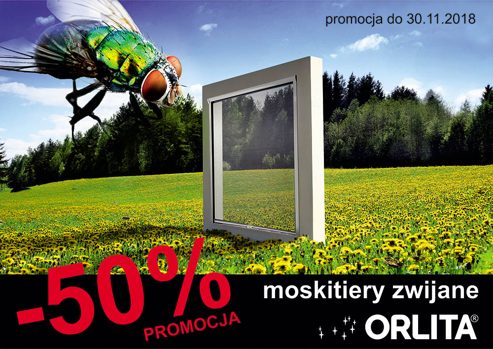 promocja moskitiery