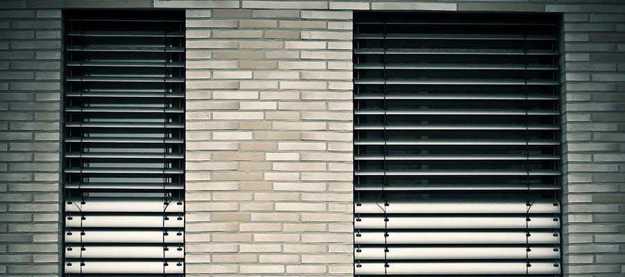 Żaluzje fasadowe