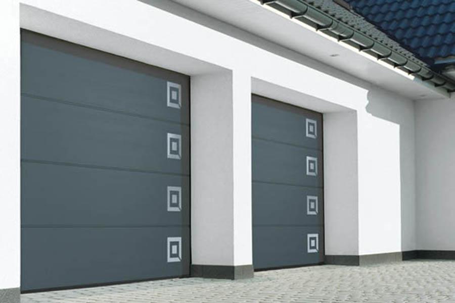 bramy garażowe - dom