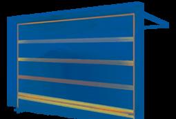 Bramy segmentowe garażowe - UniTherm
