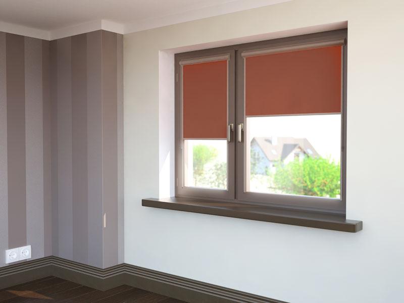 Tylko na zewnątrz Rolety wewnętrzne tekstylne (rzymskie, kasetowe, na okna dachowe KH05